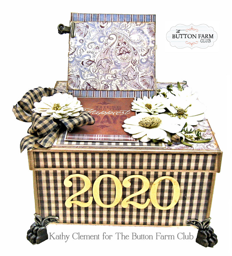 Sold out 2020 Year in a Box by Kathy Clement