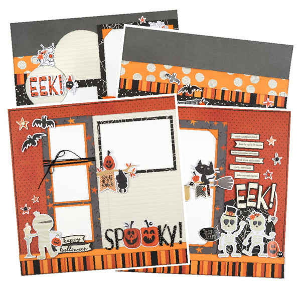 Boo Crew Page Kit