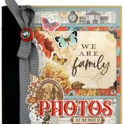 Simple Vintage Ancestry SN@P! Binder Kit by Simple Stories
