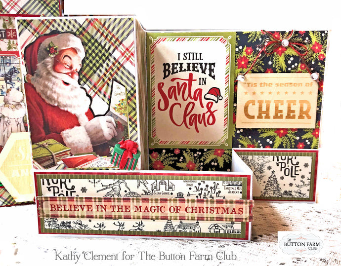 A Magical Christmas Card Kit by Kathy Clement ~ TUTORIAL ONLY ~~