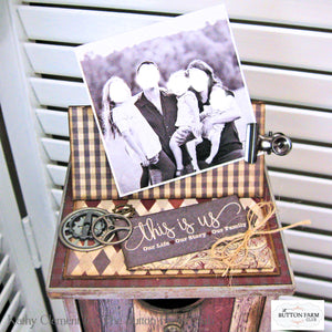 Authentique Mister Stacking Drawer with Mini Album Insert by Kathy Clement