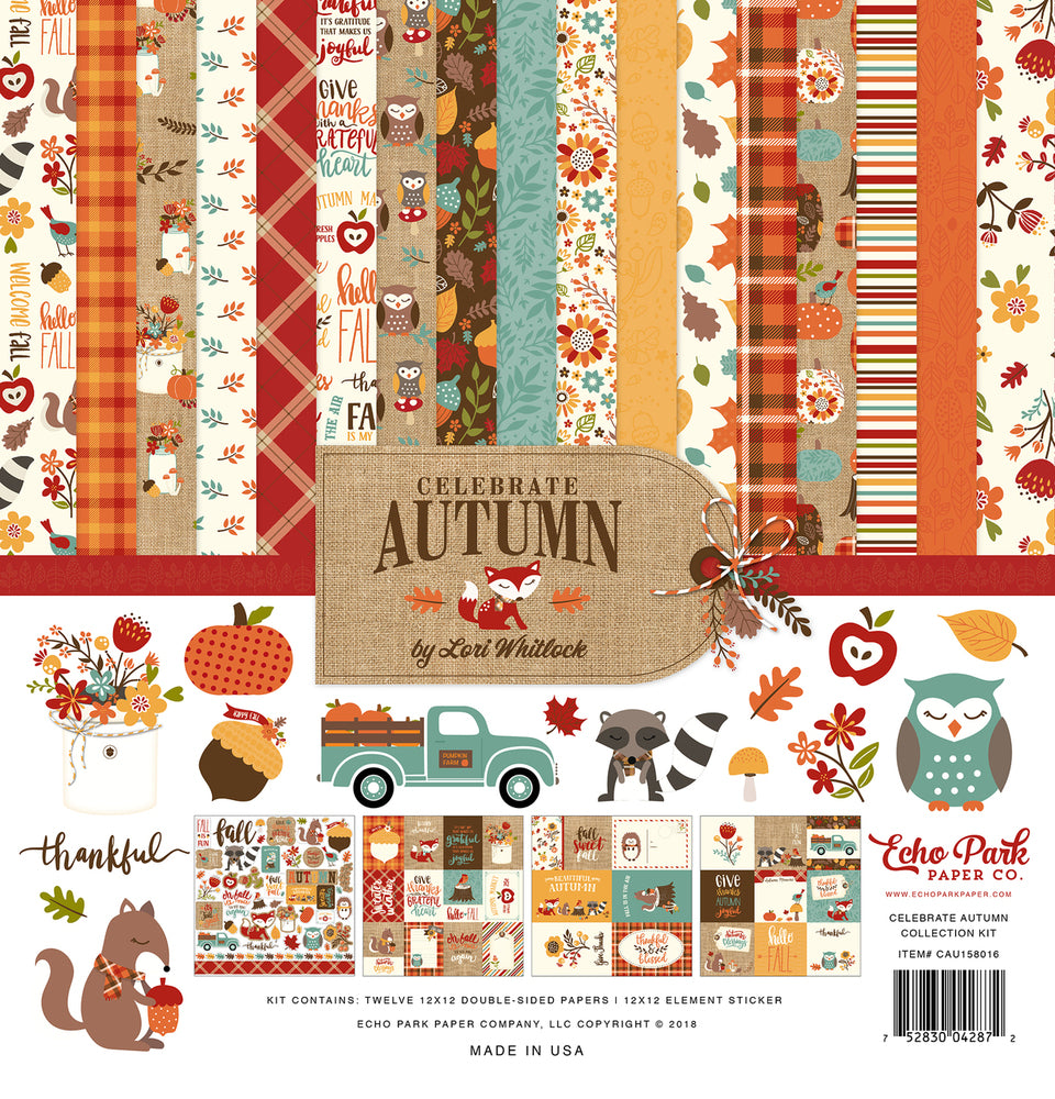 CELEBRATE AUTUMN COLLECTION KIT by Echo Park