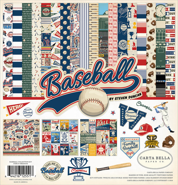 BASEBALL COLLECTION KIT by Echo Park