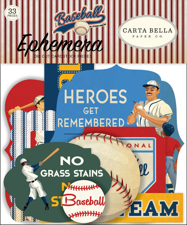 BASEBALL EPHEMERA by ECHO PARK
