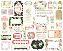 BOTANICAL GARDEN FRAMES & TAGS by ECHO PARK