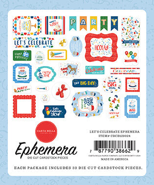 Let's Celebrate Ephemera