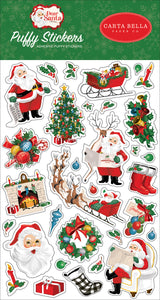 Dear Santa Puffy Stickers