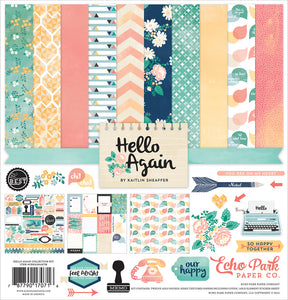 HELLO AGAIN COLLECTION KIT ~ by Echo Park Paper