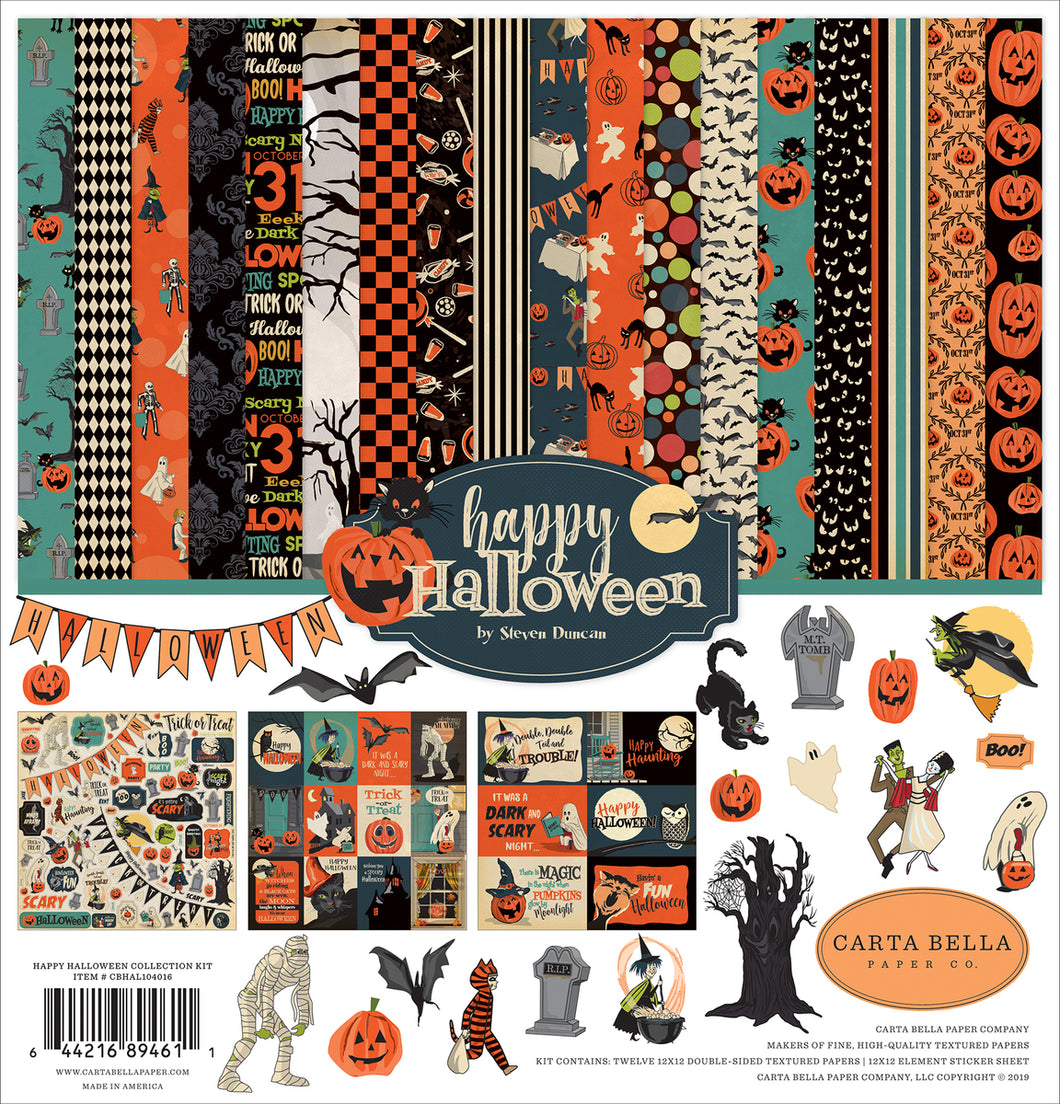 HAPPY HALLOWEEN COLLECTION KIT