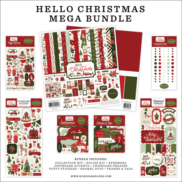Hello Christmas Mega Bundle by Echo Park Paper