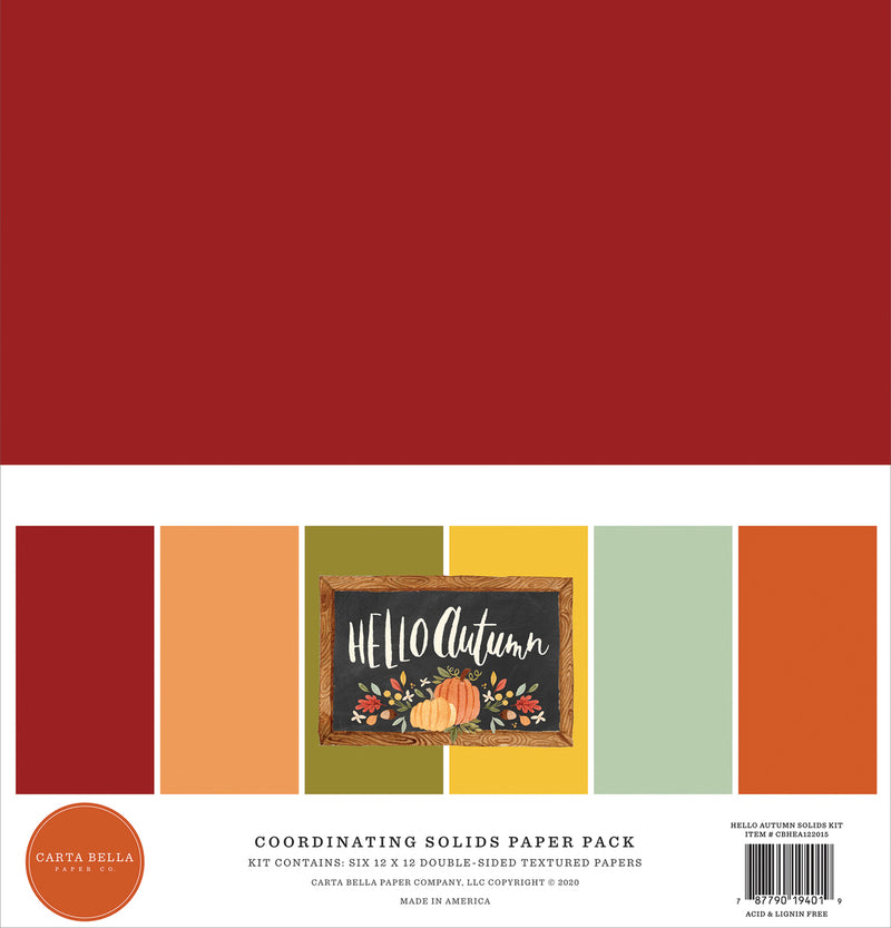 Hello Autumn Solids Kit