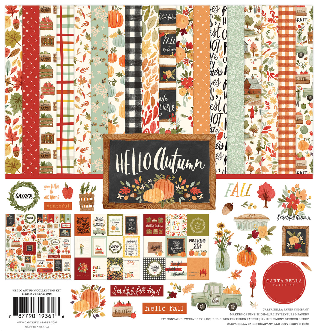 Hello Autumn Collection Kit