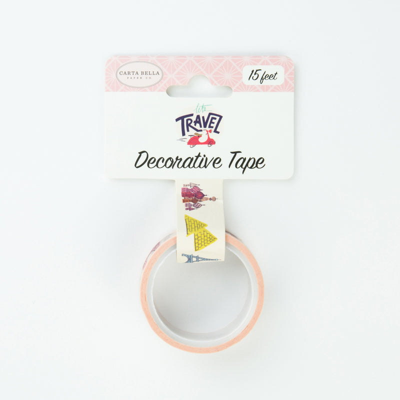 TRAVEL DESTINATIONS DECORATIVE TAPE by ECHO PARK