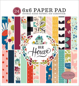 OUR HOUSE 6X6 PAPER PAD by ECHO PARK