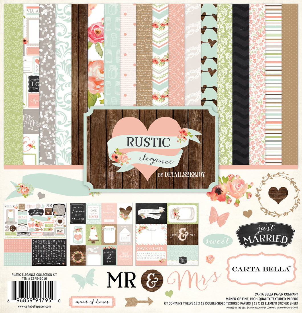 RUSTIC ELEGANCE COLLECTION KIT by ECHO PARK