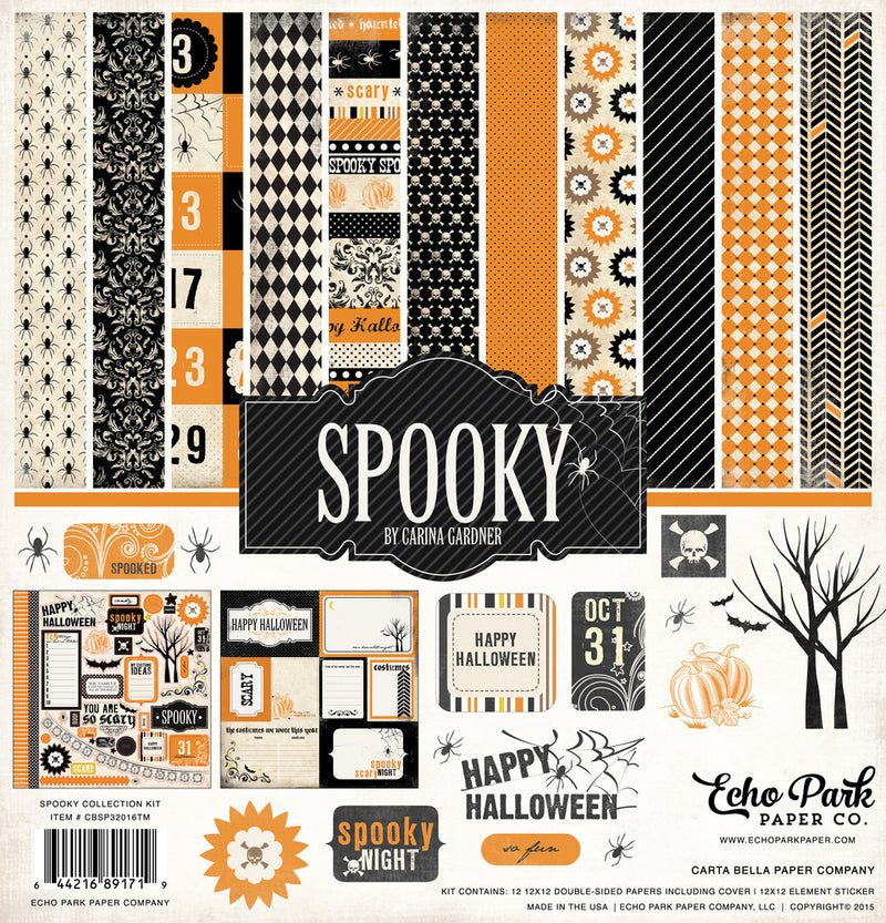 SPOOKY COLLECTION KIT ~ by Echo Park Paper