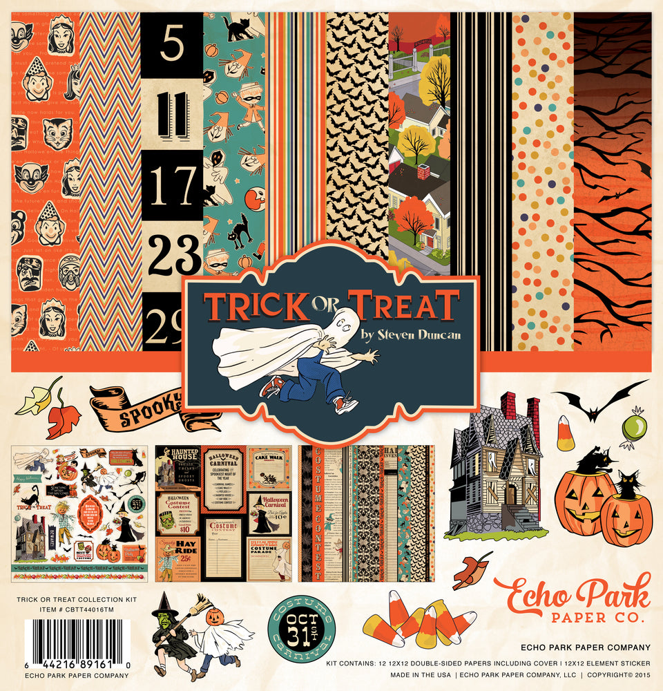TRICK OR TREAT COLLECTION KIT by Echo Park Paper