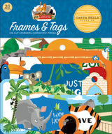 Zoo Adventure Frames & Tags
