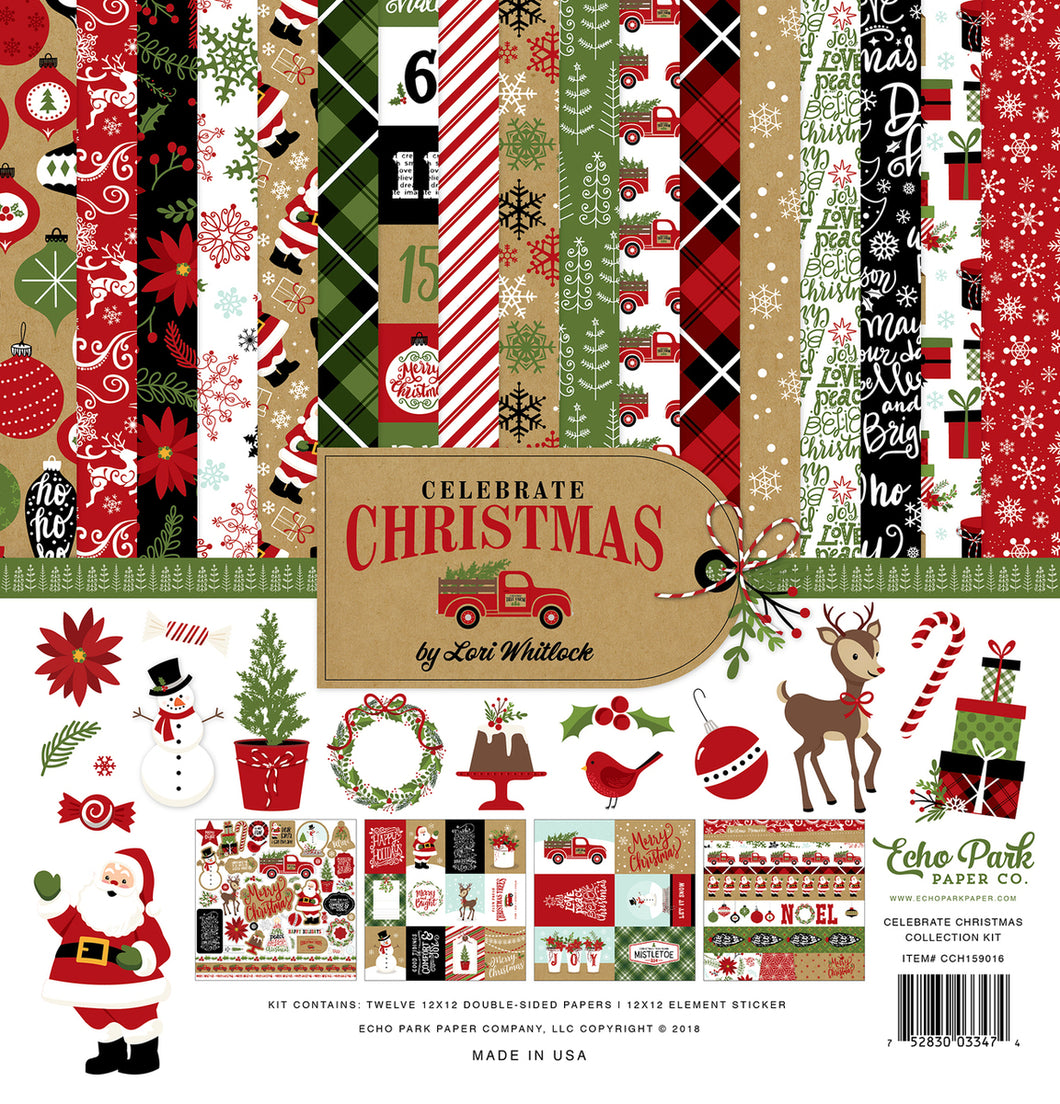 CELEBRATE CHRISTMAS COLLECTION KIT by ECHO PARK
