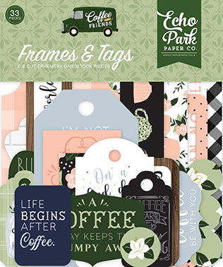 Coffee & Friends Frames & Tags