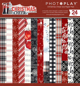 Christmas Cheer 6x6 Paper Pad by Photoplay Paper