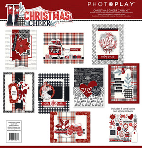 Christmas Cheer Card Kit by Photoplay Paper **SHIPPING JULY**