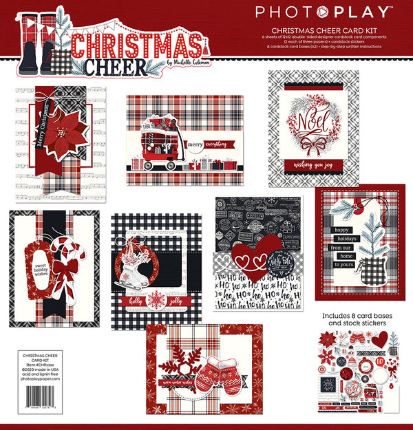 Christmas Cheer Card Kit by Photoplay Paper