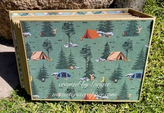 Camp Happy Bear Mini Album by Ginger Ropp