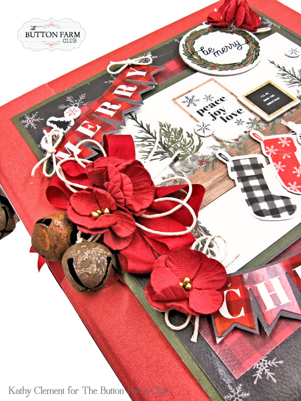 Farmhouse Christmas Holiday Binder ~ Tutorial