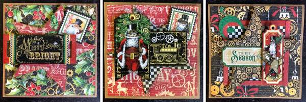 Festive Card Set ~ G45 Card Kit Vol 10