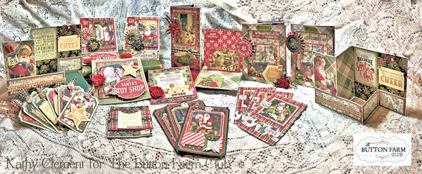 A Magical Christmas Card Kit by Kathy Clement
