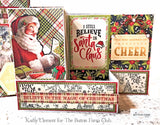 A Magical Christmas Card Kit by Kathy Clement ~TUTORIAL ONLY~