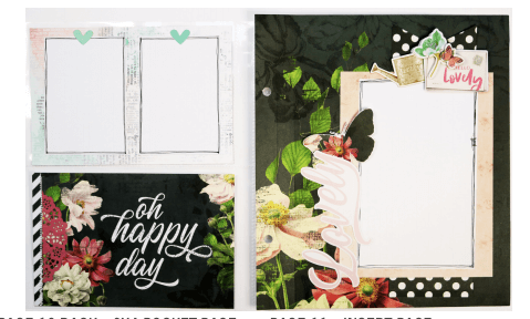 Simple Vintage Cottage Fields 6x8 Flipbook
