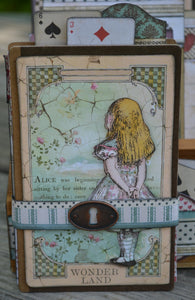 Alice in Wonderland Tiered Box