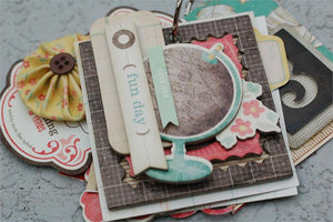 Button Farm Club Drawer Mini Album