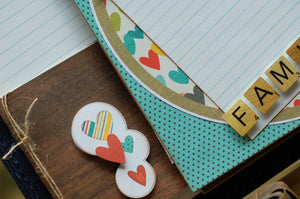 Button Farm Club Mini Album September 2015 Kit