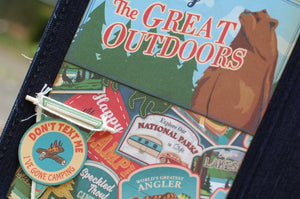Great Outdoors June's  Button Farm Club Mini Album