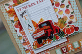 Fall Break  Button Farm Club Mini Album ~  Tutorial Only