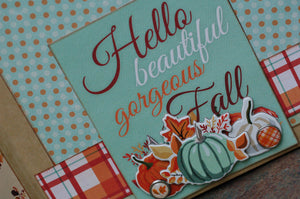Fall Break September Button Farm Club Mini Album