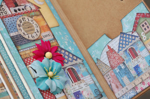 Stamperia Patchwork Traveler's Notebook