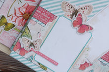 Simple Vintage Botanicals Button Farm Club's Mini Album