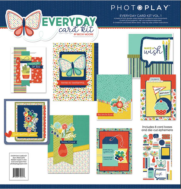 Everyday Card Kit Volume 1 by Photoplay Paper