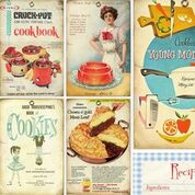 6x6 Vintage Recipes Collection Paper Pack