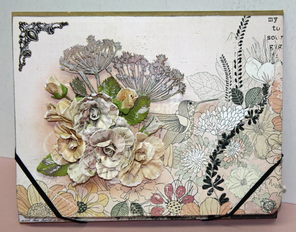 Hummingbird Folio by Nancy Wethington ~TUTORIAL ONLY