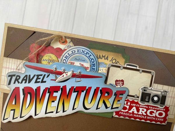 Travel Adventure Mini Album