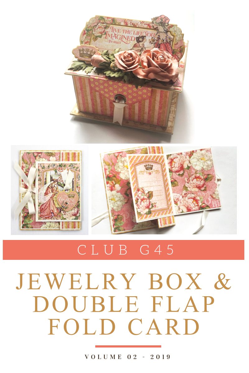 Club G45 2019 - Volume 02 - Princess Jewelry Box & Double Fun Fold Card