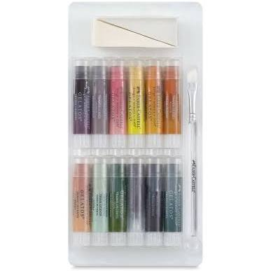 Faber-Castell Design Memory Craft Gelatos Set Translucents - Paints & Mediums