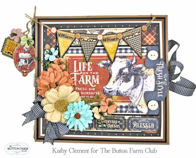 Graphic 45 Farmhouse Folio by Kathy Clement