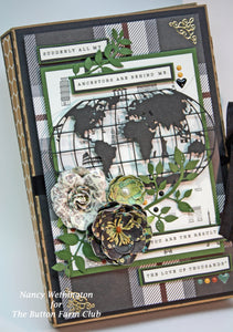 Hertiage Mini Book by Nancy Wethington ~ Tutorial Only