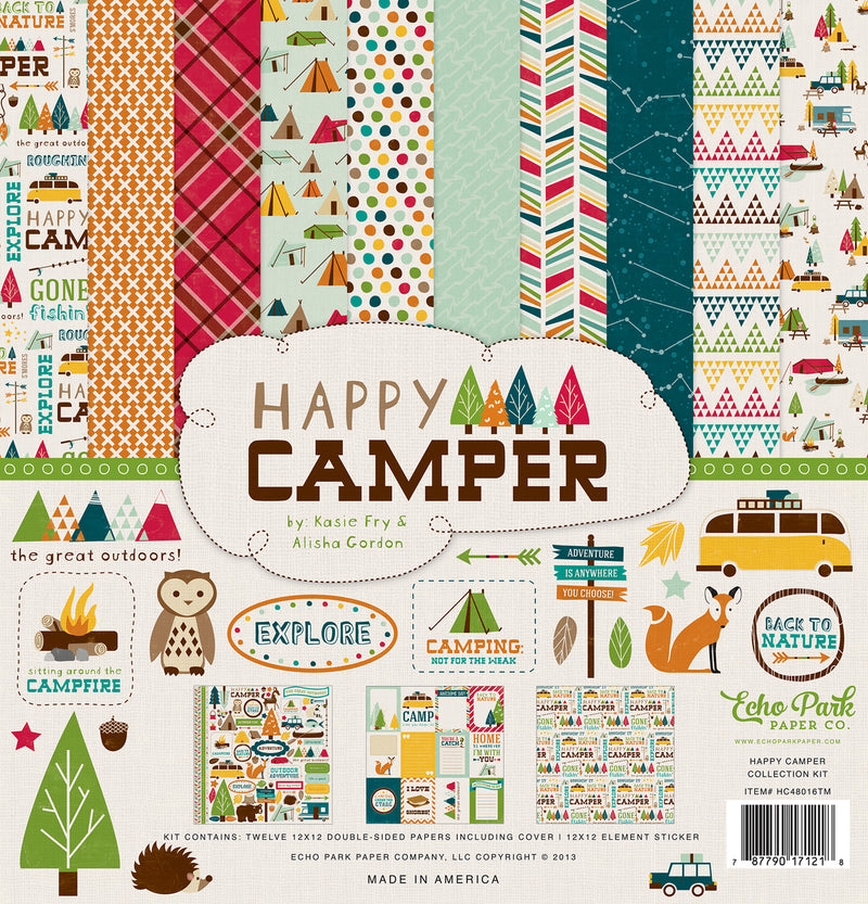 HAPPY CAMPER COLLECTION KIT
